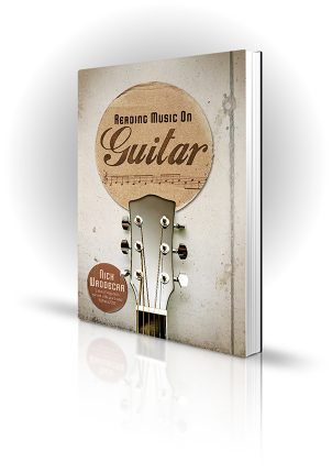 Reading Music On Guitar - Nick Waddecar - Guitar headstock