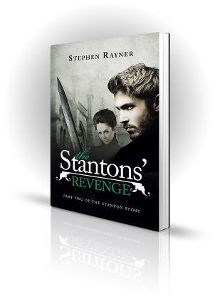 The Stanton's Revenge - Stephen Rayner - Man with a sword and a woman with big hair