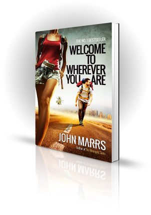 Welcome To Wherever You Are - John Marrs - Two Backpackers on a Road