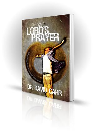Living The Lords Prayer - David Carr - Man with arms outstretched