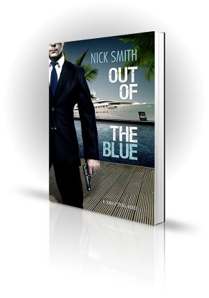 Out Of The Blue - Nick Smith - Man with a gun near a super yacht