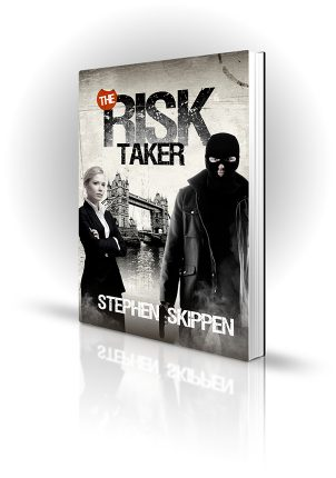 The Risk Taker - Stephen Skippen - Man in balaklava and woman in front of tower bridge