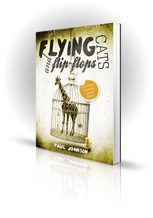 Flying Cats and Flip Flops - Paul Johnson - Giraffe in a bird cage
