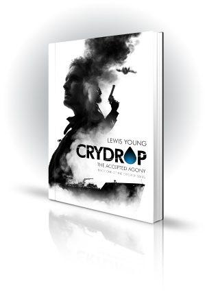 Crydrop - Lewis Young - Man with gun, smoke, freight ship