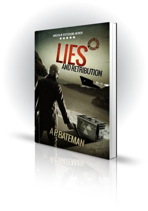 Lies And Retribution - AP Bateman - Bald Beareded Man with Nuclear Box