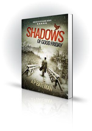 Shadows Of Good Friday - AP Bateman - Man on Snowy Bridge