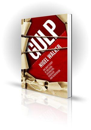 Gulp - Nigel Walker - Unwrapped brown paper and string