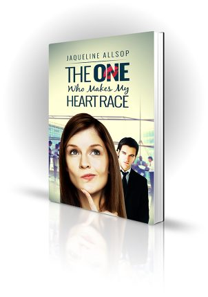 The One Who Makes My Heart Race - Jaqueline Allsop - Thoughful woman with suitor looking on