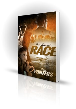 The Second Race - Jack Winters - Sea rescue with oil rig and man with a gun