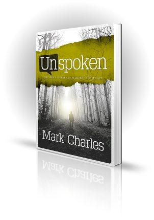 Unspoken - Mark Charles - Man walking in bleak woodland