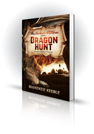 The Jackson Children and the Dragon Hunt - MacKenzie Keeble - Dragon lair with children
