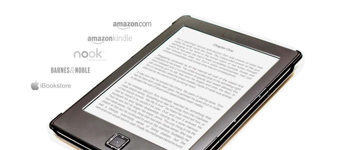 Get Out There - ebook looking great on an ereader