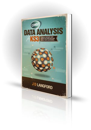 OMG Data Analysis KS3 - J D Langford - Book Cover Portfolio