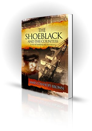 The Shoeblack And The Countess - Book Stanhope Brown - Book Cover Portfolio
