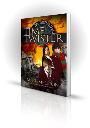 Sam, Woolly and the Time Twister - M.J. Templeton - Book Cover Design - Book Cover Portfolio