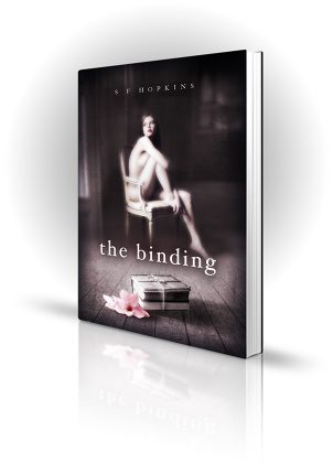 The Binding - S F Hopkins - Naked Woman on a Chair - Book Cover Portfolio