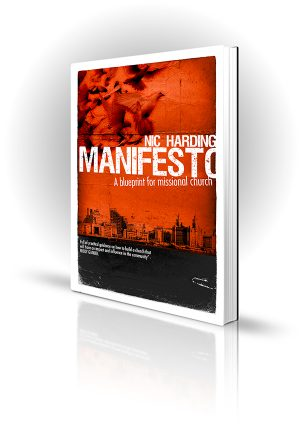 Manifesto - Nic Harding - Doves over a city - Book Cover Portfolio