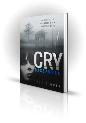 Cry Cassandra - Charles Owen - Woman outside near a lake - Book Cover Portfolio