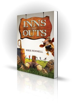 Inns And Outs - Mike Fennell - Book Cover Design - Book Cover Portfolio