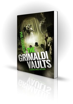 The Grimaldi Vaults - Dark and smokey 1930's london club - Book Cover Portfolio