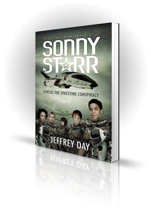 Sonny Starr - Jeffrey Day - Book Cover Design - Book Cover Portfolio