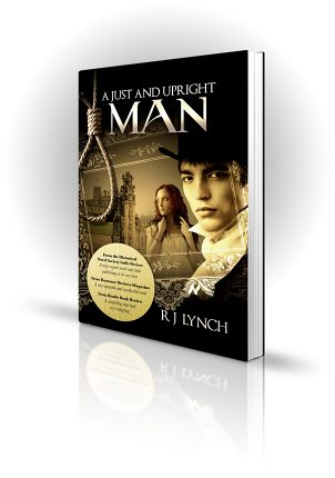 A Just And Upright Man - RJ Lynch - Book Cover Design - Book Cover Portfolio