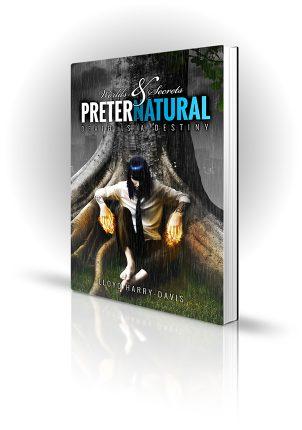 Preternatural - Lloyd Harry-Davis - Book Cover Design - Book Cover Portfolio
