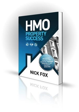 HMO Property Success - Nick Fox - Book Cover Portfolio