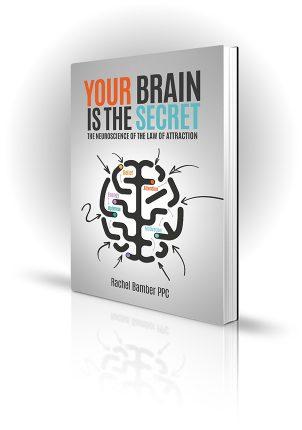 Your Brain Is The Secret - Rachel Bamber PPC - Book Cover Design - Book Cover Portfolio